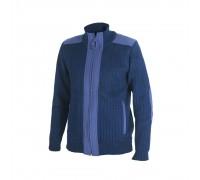 Куртка трикотажная (синяя)