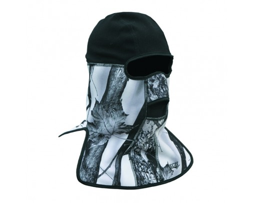 "- Шлем-маска ""Снегоход"" windbloc (белый лес) - 730-4 - Stalker PRO"