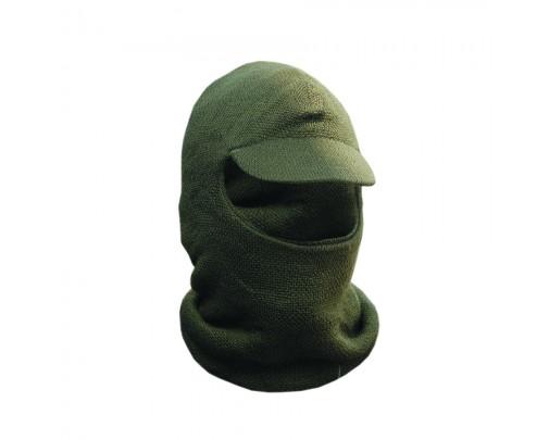 ХСН - Лыжная шлем-маска с козырьком (оливковая) - 714-1 - Stalker PRO