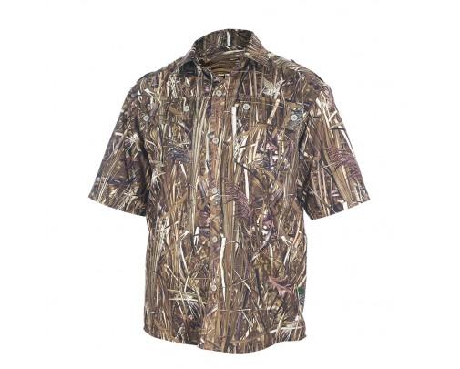 """ХСН - Рубашка с коротким рукавом """"Бриз"""" (осока) - 9457-7 - Stalker PRO"""
