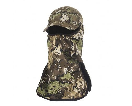 "ХСН - Бейсболка с маской ""Suede Hat +"" (Forest) Коллекция ""Шаман"" - s604-1 - Stalker PRO"