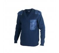 Пуловер (синий)