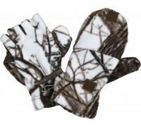 Варежки-перчатки (белый лес)