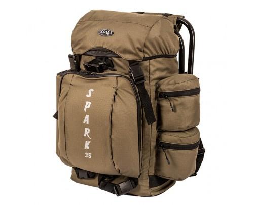"- Рюкзак со стулом ""Spark"" (35 литров - хаки) - 9765 - Stalker PRO"