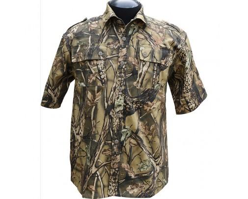 """ХСН - Рубашка с коротким рукавом """"Фазан"""" (лес) - 9456-2 - Stalker PRO"""