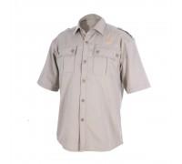 Рубашка с коротким рукавом (сафари)