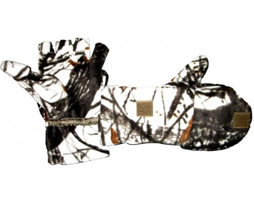 - Варежки-перчатки windblok (белый лес) - 733-4 - Stalker PRO