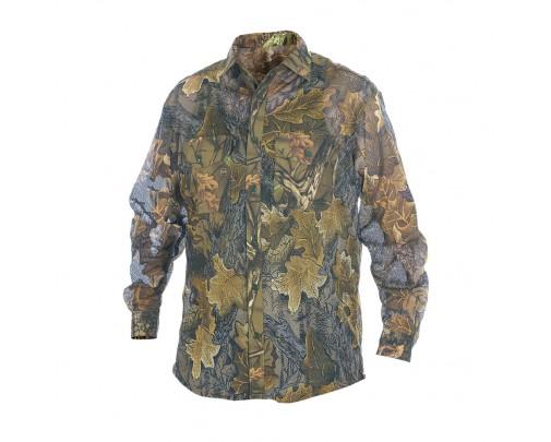 """ХСН - Рубашка летняя """"Таежный стиль"""" длинный рукав (сетка-дубок) - 9464-2 - Stalker PRO"""