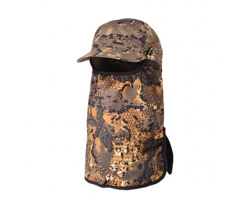 "ХСН - Бейсболка с маской ""Suede Hat +"" (Oak Wood) Коллекция ""Шаман"" - s604-2 - Stalker PRO"