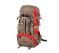 Рюкзак Горный 50 литров NEW (серо-красный) ХСН 9773-1