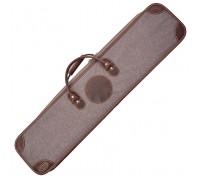 Чехол для ружья с двумя сменными стволами кейс, 100 см (II) (автовелюр)