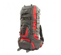 Рюкзак Горный 80 литров NEW (серо-красный) ХСН 9774-1