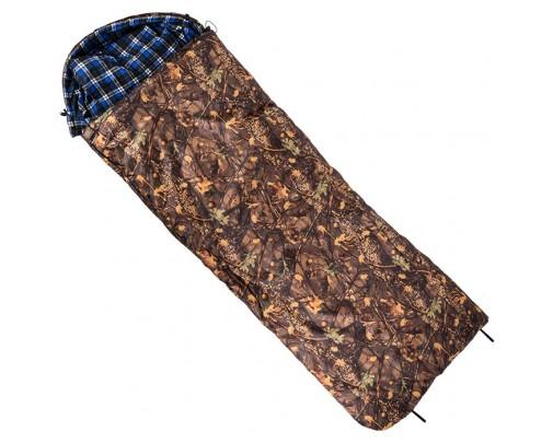 """ХСН - Спальный мешок """"Зима"""" с капюшоном (одеяло, 0,8-1,8 м) - 9273 - Stalker PRO"""