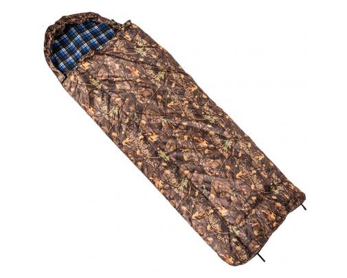 Спальный мешок с капюшоном (одеяло,комбинированный, 1,0-1,8 м)