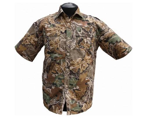 """ХСН - Рубашка с коротким рукавом """"Фазан"""" (дубок) - 9456-1 - Stalker PRO"""